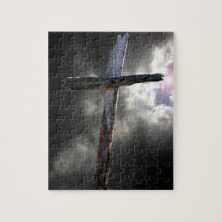 The Old Wooden Cross Puzzle