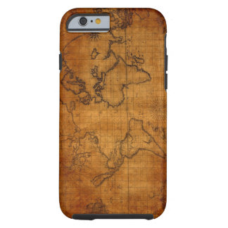 The old world map iphone6 case