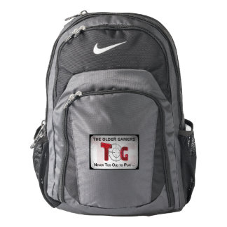 The Older Gamers Nike Backpack Dirty Border