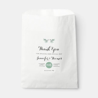 The Olive Spring Wedding Favor Bags Favour Bags