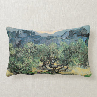 The Olive Trees,1889, by Vincent van Gogh Pillows