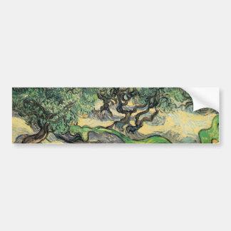 the olive trees,1889, Vincent van Gogh Car Bumper Sticker