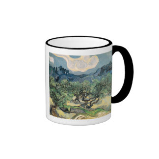 the olive trees,1889, Vincent van Gogh Mug