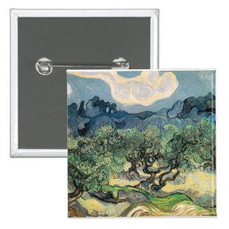 the olive trees 1889 Vincent van Gogh Pins