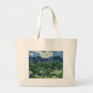 The Olive Trees by Van Gogh Fine Art Canvas Bag