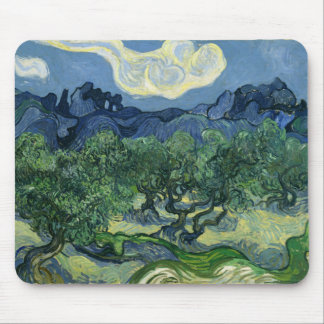 The Olive Trees by Van Gogh Fine Art Mouse Pad