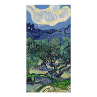 The Olive Trees by Vincent Van Gogh Personalised Photo Card