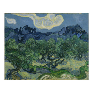 The Olive Trees - Van Gogh Poster