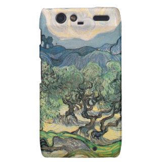 The Olive Trees, Vincent van Gogh Droid RAZR Cases