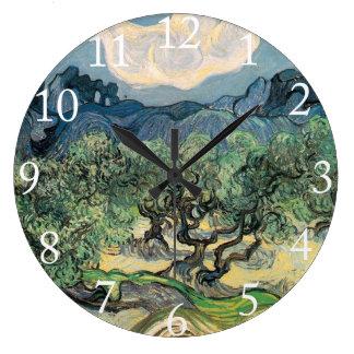 The Olive Trees, Vincent van Gogh Wall Clocks