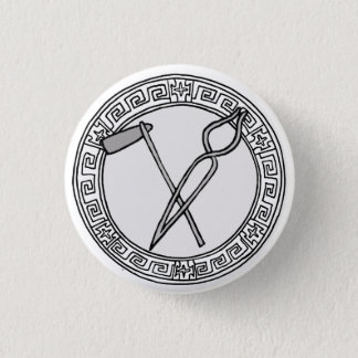 The Olympians! Hephaistos / Vulcan symbol badge
