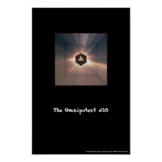 The Omnipotent d20 - Print