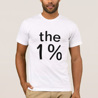 the one percent (1%) - anti-occupy wall street T-Shirt