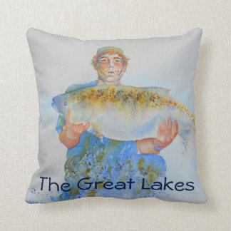 The one that didn't get away -  the great lakes cushion