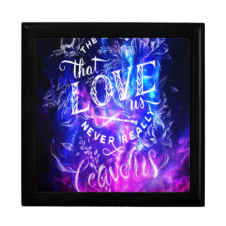 The Ones that Love Us Amethyst Dreams Large Square Gift Box