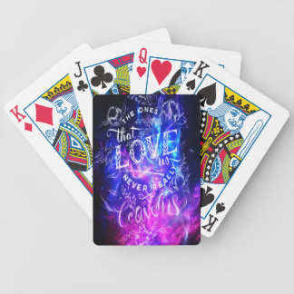 The Ones that Love Us Amethyst Dreams Poker Deck