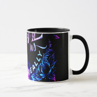 The Ones that Love Us in Amethyst Winter Dreams Mug