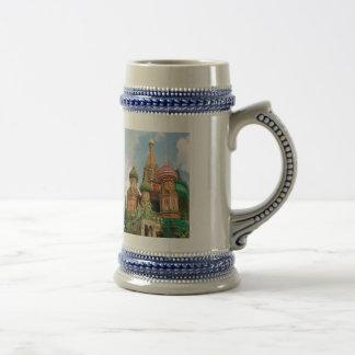 The Onion Domes of Russia Mug