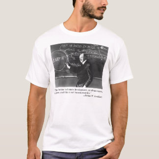 """""""The only barrier to human development..."""" T-Shirt"""