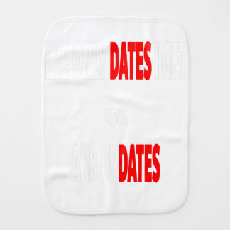 The only dates i get are updates burp cloth