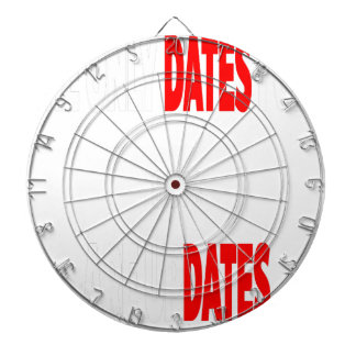 The only dates i get are updates dartboard