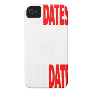 The only dates i get are updates iPhone 4 cover