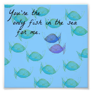 The Only Fish Photo Print