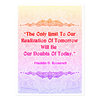 The Only Limit - Positive Quote´s Postcard