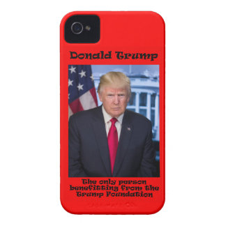 The Only Person Benefitting - Anti Trump iPhone 4 Case-Mate Cases
