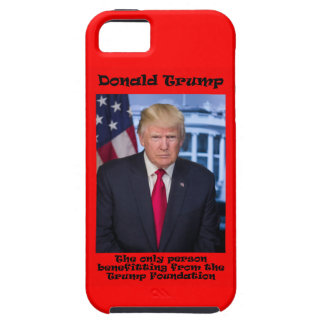 The Only Person Benefitting - Anti Trump iPhone 5 Covers