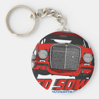 The only Red Sow Key Ring