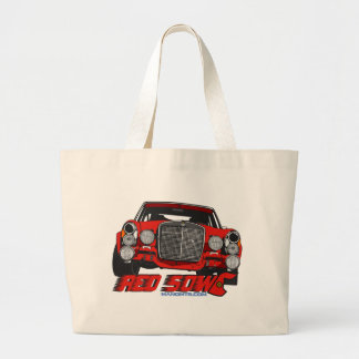 The only Red Sow Large Tote Bag