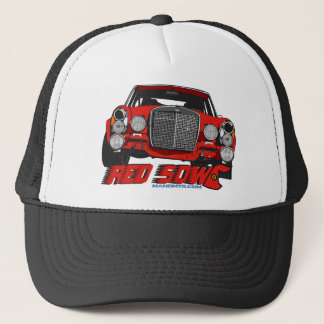 The only Red Sow Trucker Hat