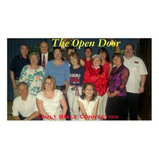 The Open Door Business Card