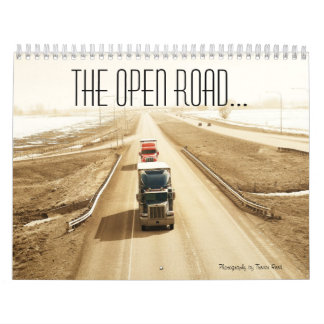The open road wall calendar