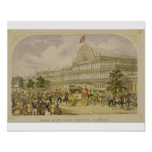 The Opening of the Great Exhibition, May 1st 1851, Posters