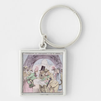 The Opening of the Universal Exhibition Key Chains