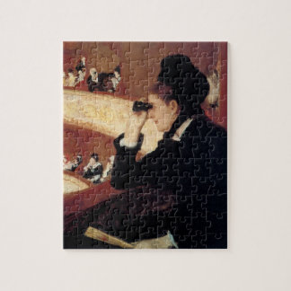 The Opera by Mary Cassatt, Vintage Impressionism Jigsaw Puzzle