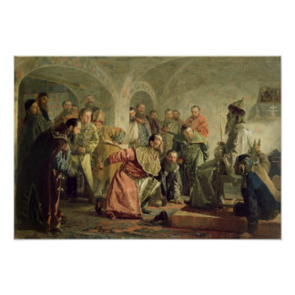 The Oprichnina at the Court of Ivan IV Poster