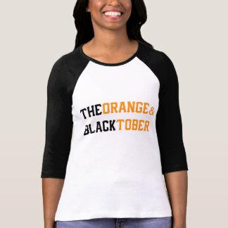 The Orange & Blacktober Baseball Shirt