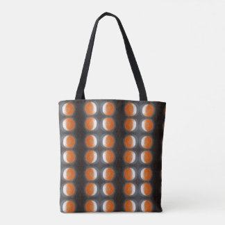 The Orange Planet - all over print tote bag