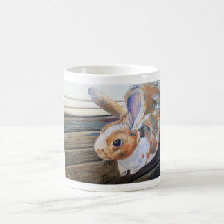 "The Orange Rabbit ""Cheeto"" Mug"