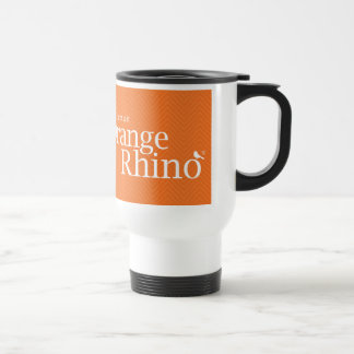 The Orange Rhino Travel Mug