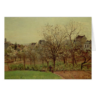 The Orchard, 1870 (oil on canvas) Card