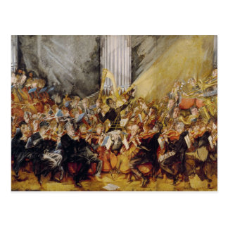 The Orchestra Postcard
