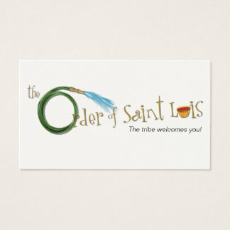 The Order of Saint Luis Card