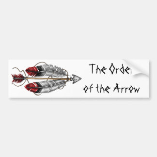 The Order of the Arrow Bumper Sticker