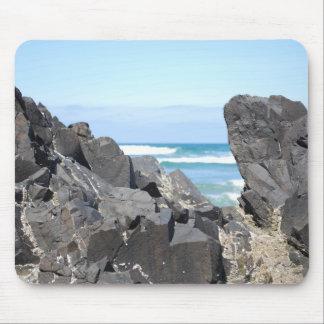The Oregon Coast Rocks & Waves Mouse Pad