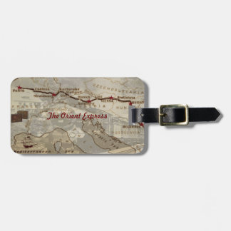 The Orient Express Luggage Tag