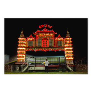The Orient Express Rollercoaster Photographic Print